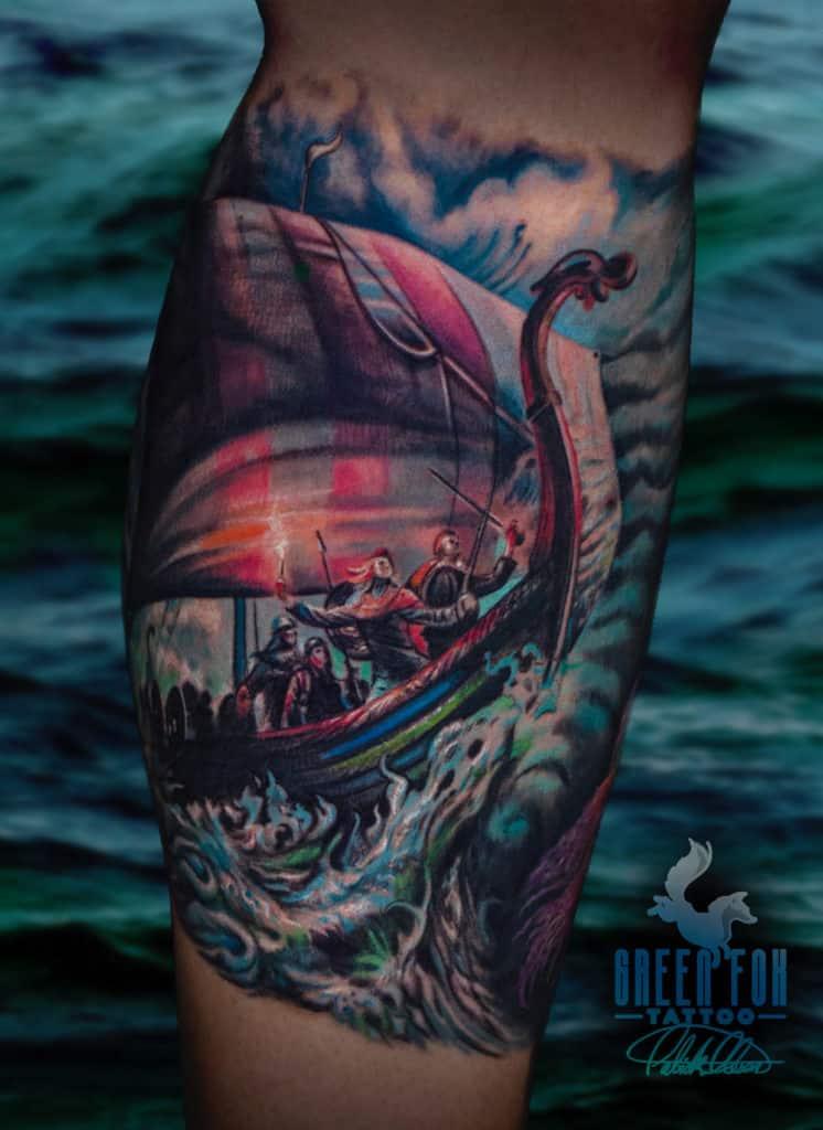 Award Winning Viking Tattoo